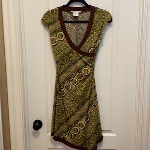 La Belle Aztec Design Dress - Size M